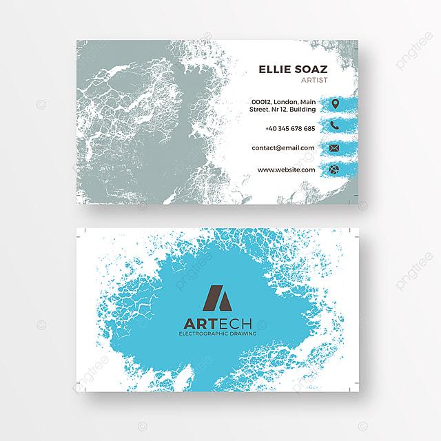 bright carte d affaires avec un visage mod u00e8le de