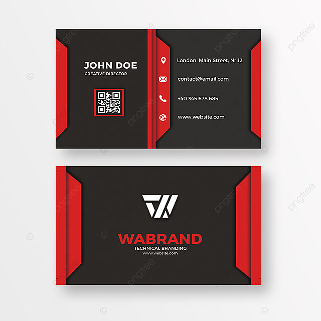 Red and black business card template for free download on pngtree red and black business card template friedricerecipe Gallery