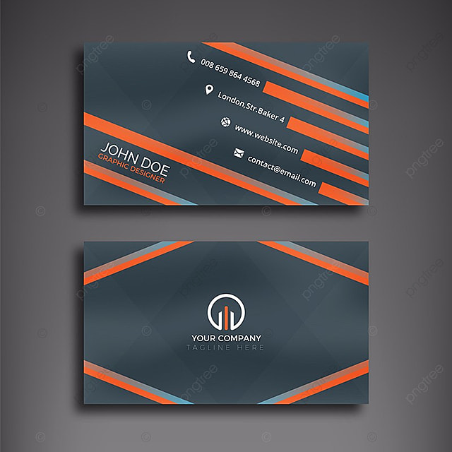 Modern business card template for free download on pngtree modern business card colourmoves