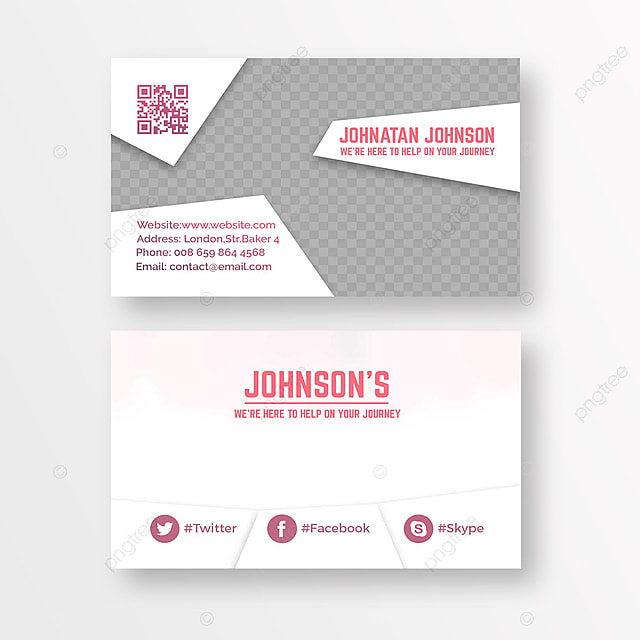 Real Estate Business Card Template For Free Download On Pngtree