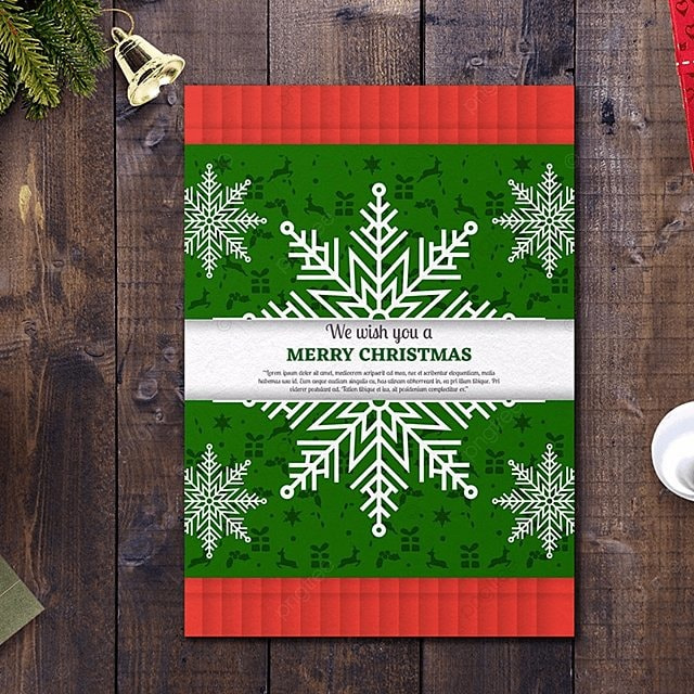 Green Christmas Flyer Template Template For Free Download On Pngtree