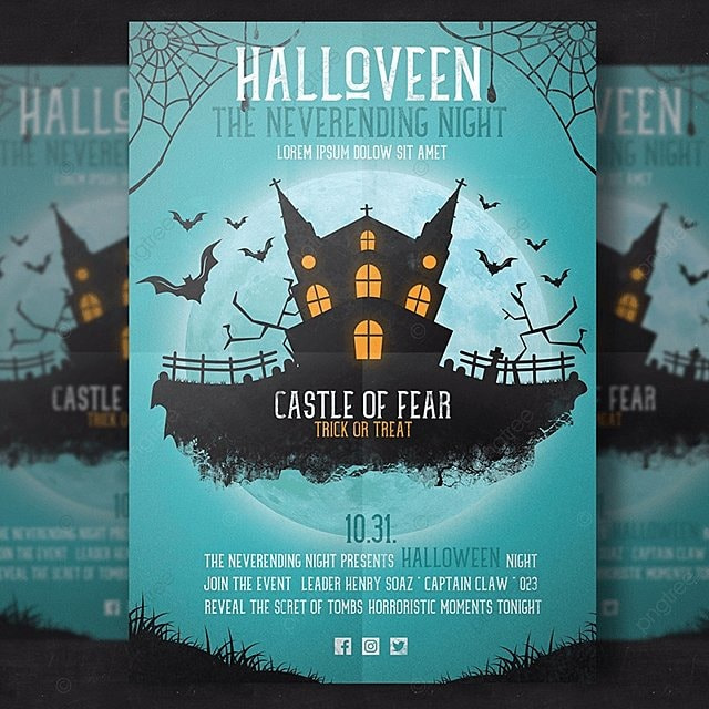 Dark Castle Flyer Template Template For Free Download On Pngtree