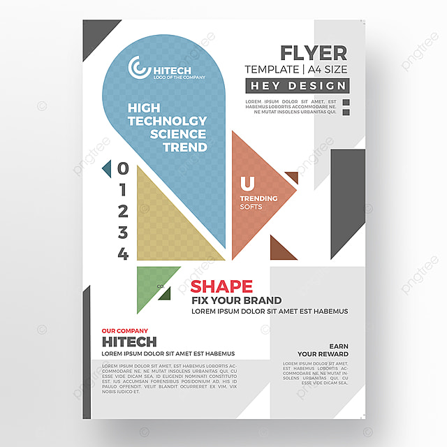 Real Estate Flyer Template Template Free Download On Pngtree - Real estate brochure template free download