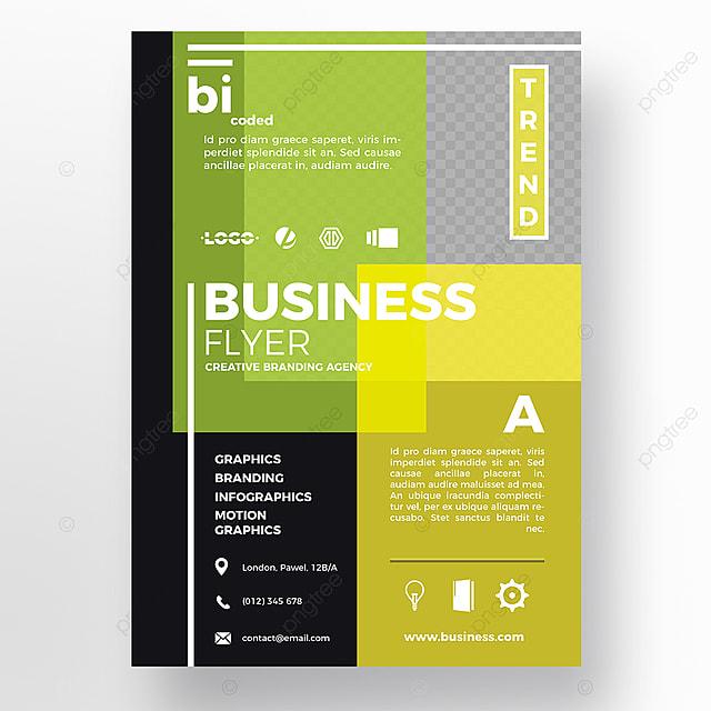 Gut gemocht coloré flyer modèle Template Téléchargement gratuit sur Pngtree OJ84