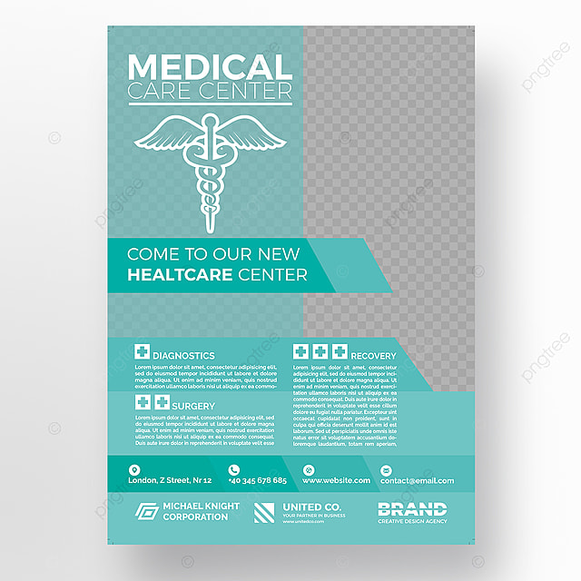 Hospital Flyer Template Template For Free Download On Pngtree