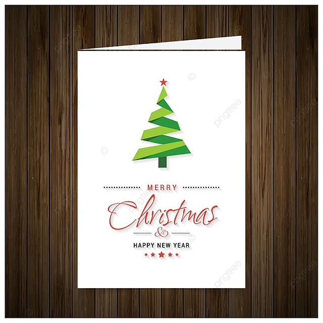 free template christmas card