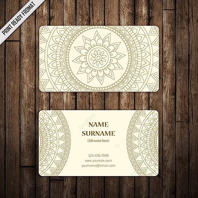 wedding business card templates free