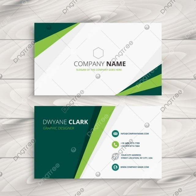 Clean green visit card vector design illustration template for free clean green visit card vector design illustration template friedricerecipe Images
