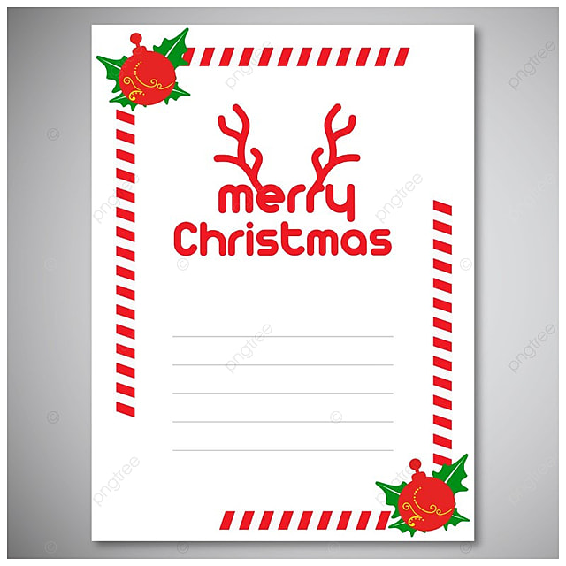christmas invitation envelope template for free download on pngtree