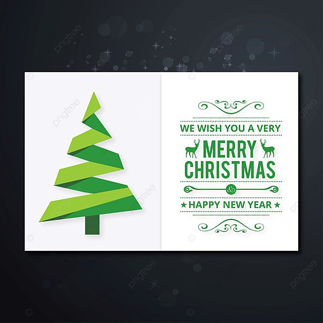 Wish You A Christmas Card Template For Free Download On Pngtree - Christmas cards templates free downloads