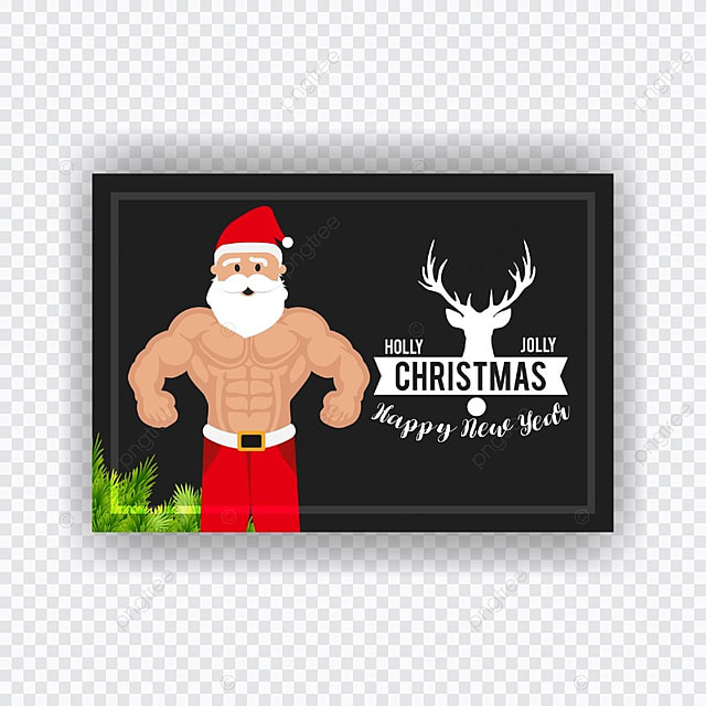 christmas card with hulk santa template