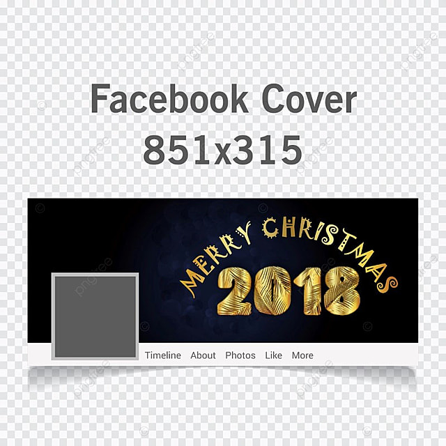 facebook cover photo template 2018