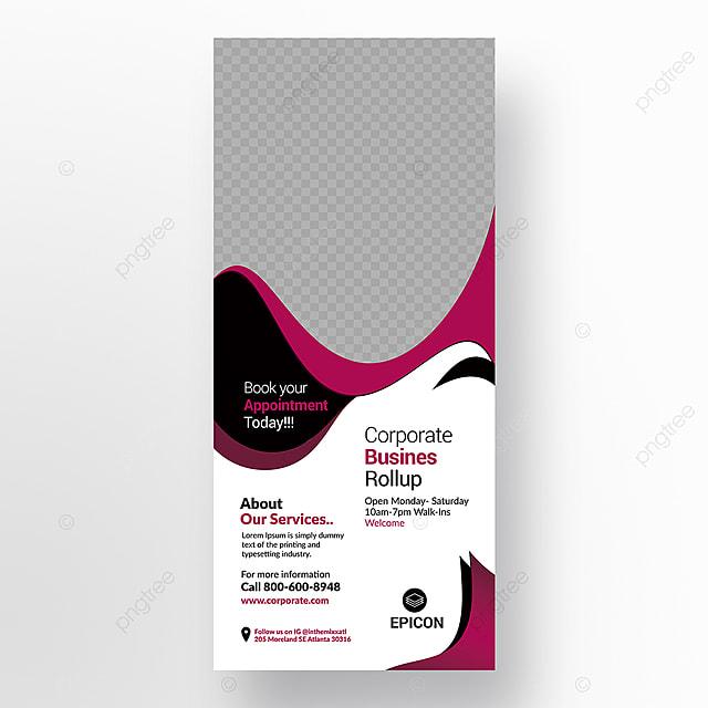 Empresa Stand Banner Modelo Para Download Gratuito No Pngtree