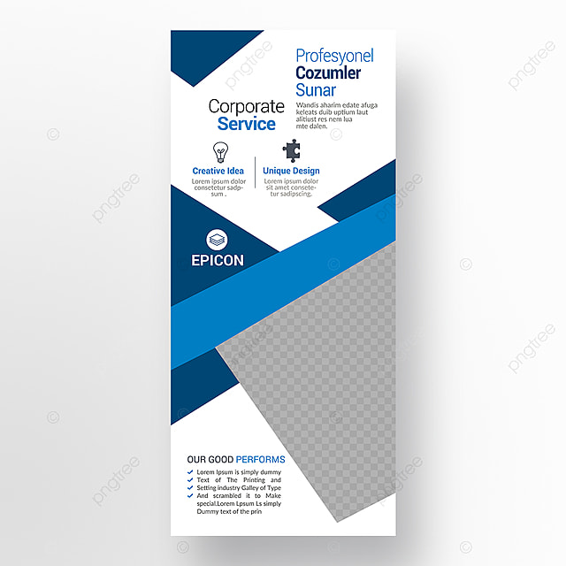 corporate business roll up banner template for free download on pngtree