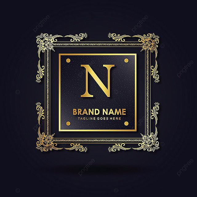 Luxury Letter N Logo Design:  N Vector Amazing Alphabet Logo Designs Template Download