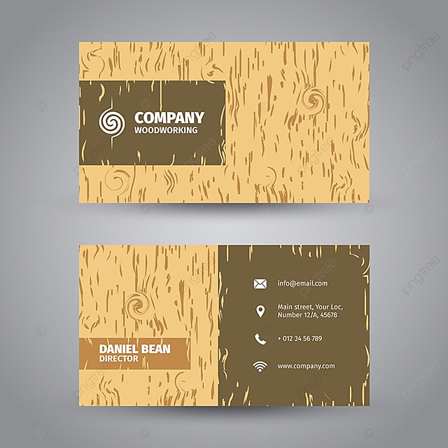Wood Business Card Template Template For Free Download On Pngtree