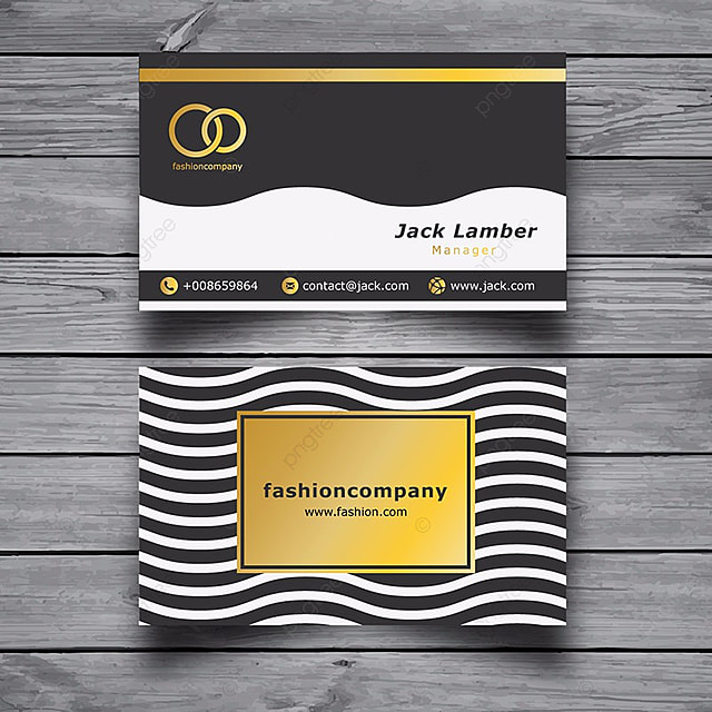 fashion business card template template free download on pngtree