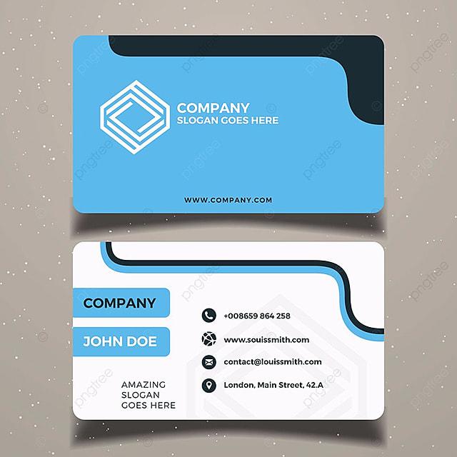 Blue business card template modelo para download gratuito no pngtree blue business card template modelo reheart Images