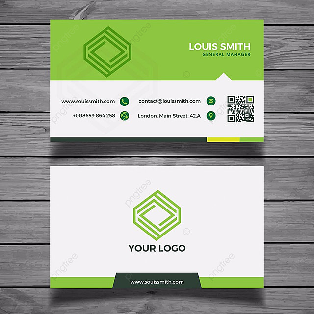 Green business card template template for free download on pngtree green business card template template accmission