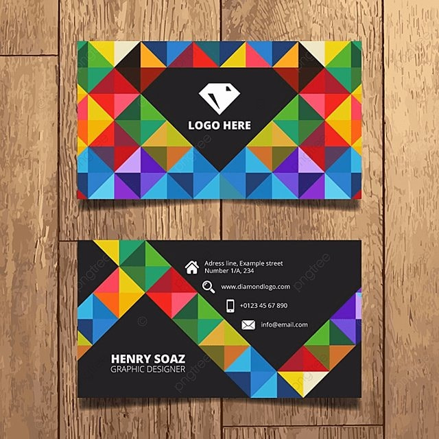 Colorful business card template template for free download on pngtree colorful business card template template colourmoves