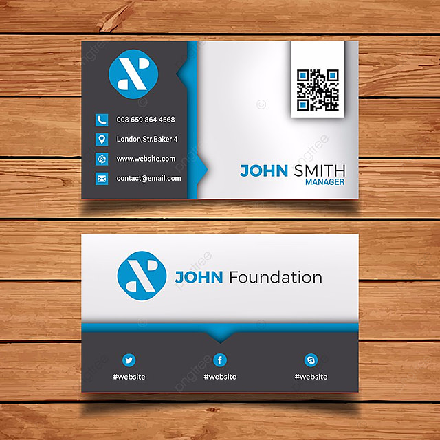 Modern business card template template for free download on pngtree modern business card template template cheaphphosting Gallery