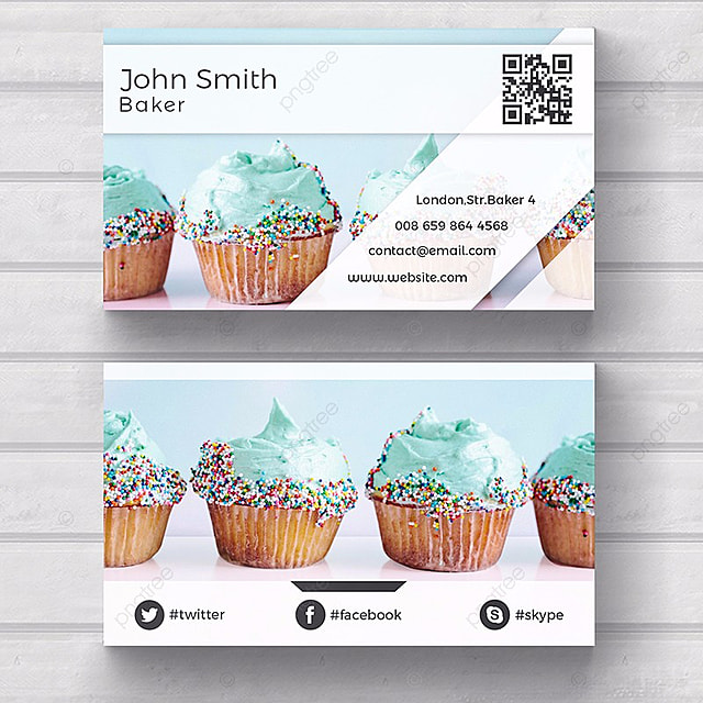 Bakery Business Card Template Template For Free Download On Pngtree