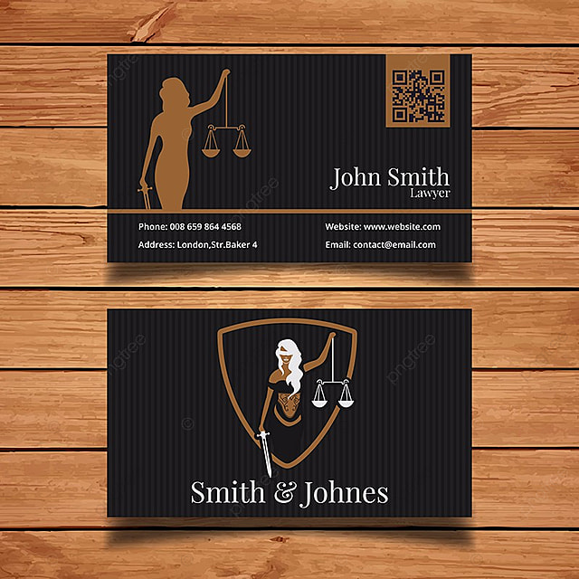 Lawyer Business Card Template Template For Free Download On Pngtree
