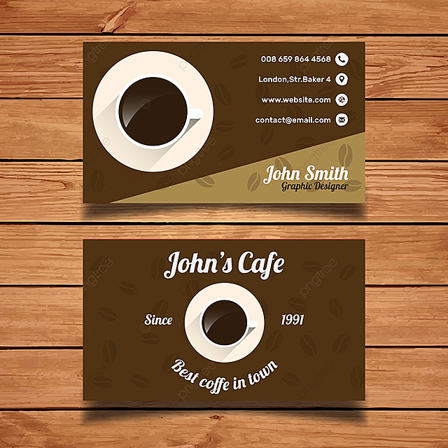 Coffee business card template template for free download on pngtree coffee business card template template wajeb Gallery