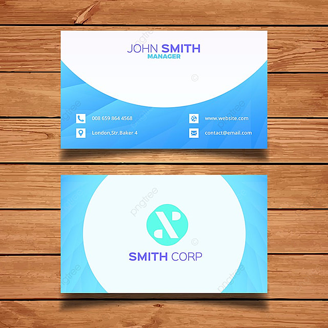 Blue business card template modelo para download gratuito no pngtree blue business card template modelo reheart Image collections