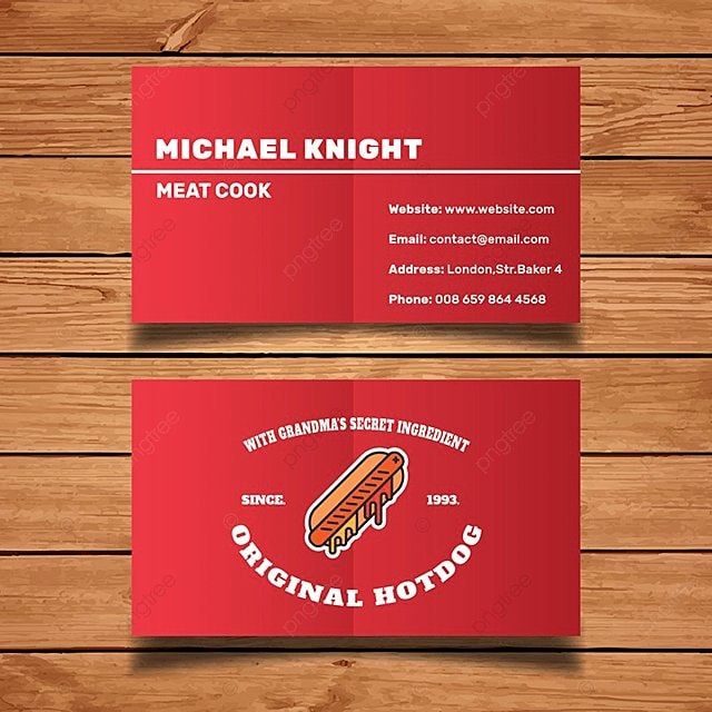 Fast food business card template template for free download on pngtree fast food business card template template flashek