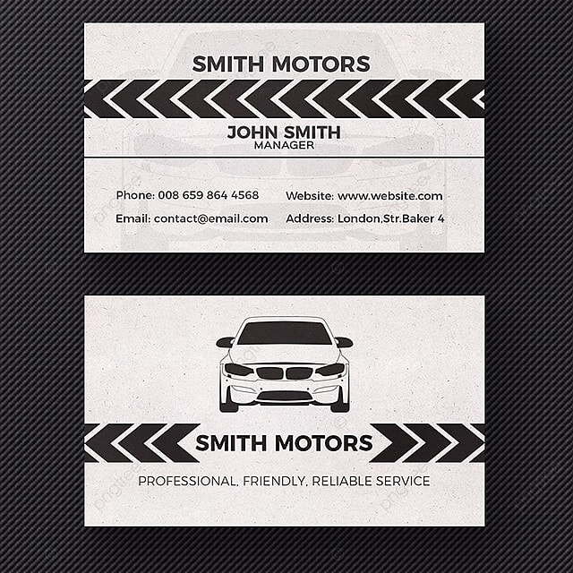Car Dealer Business Card Template Template For Free Download On Pngtree