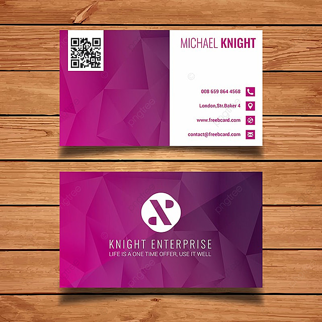 Purple polygon business card template template for free download on purple polygon business card template template accmission