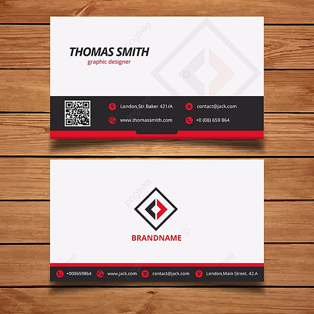 Red business card template template for free download on pngtree red business card template template accmission Gallery
