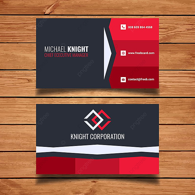 Red business card template template for free download on pngtree red business card template template fbccfo Choice Image