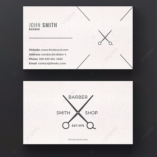 Barber business card template template for free download on pngtree barber business card template template wajeb Images