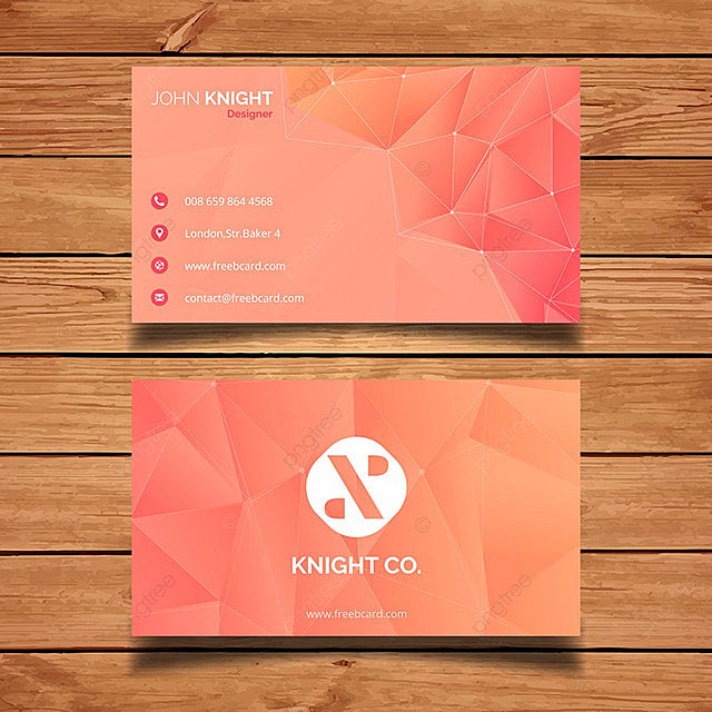 Orange poly business card template template for free download on pngtree orange poly business card template template reheart Choice Image