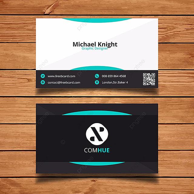 simple business card template template for free download on pngtree