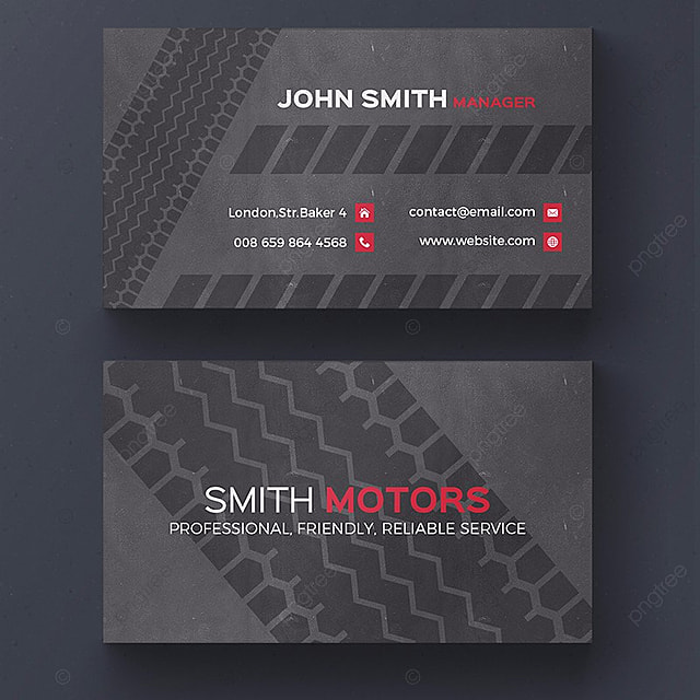 Car service business card template modelo para download gratuito no car service business card template modelo reheart Images