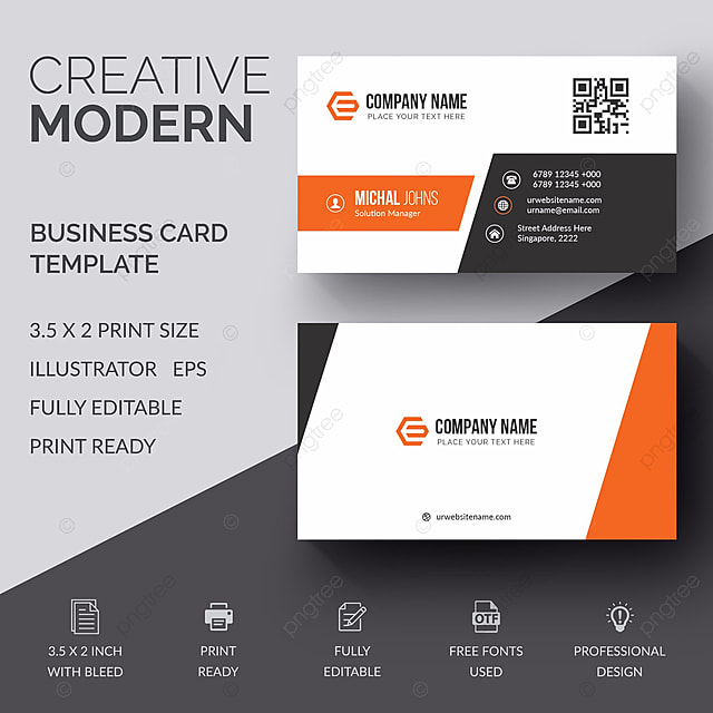 Creative business card template for free download on pngtree creative business card template cheaphphosting Choice Image