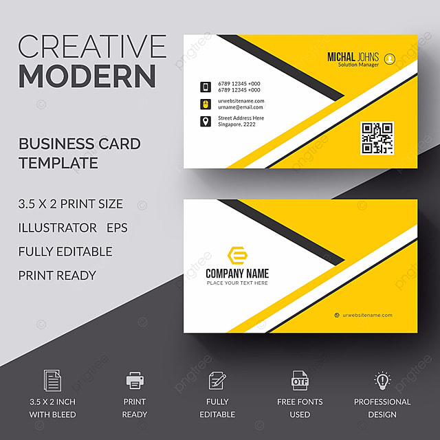 Business card template for free download on pngtree business card template fbccfo Choice Image