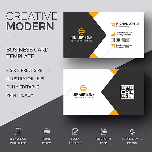 Business card template for free download on pngtree business card template reheart Gallery