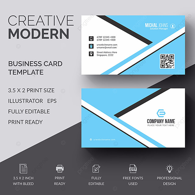 business card template free download on pngtree