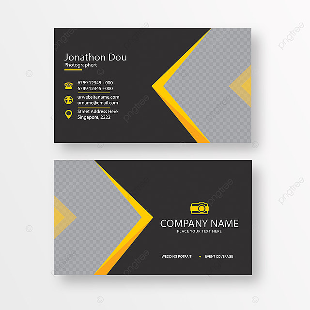 Photographer Business Card Template For Free Download On Pngtree - Photographer business card template