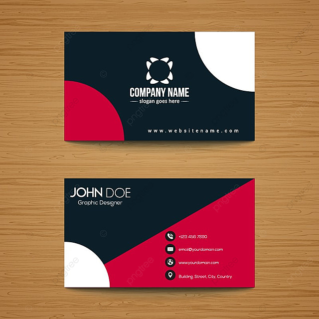 Corporate business card template for free download on pngtree corporate business card template reheart Image collections