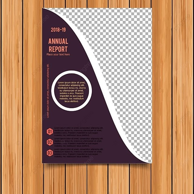 Informe anual tarjeta con fondo morado Descarga gratuita de ...