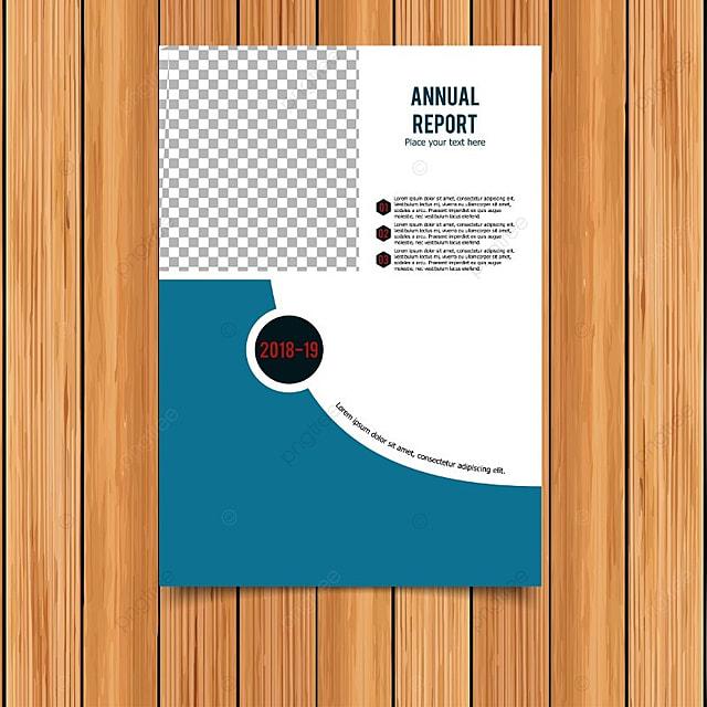 Informe anual tarjeta con fondo azul y blanco Descarga gratuita de ...