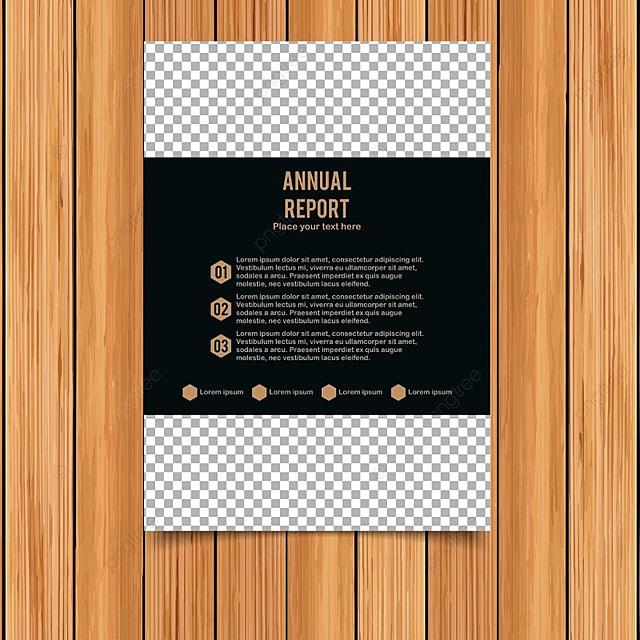 Informe anual tarjeta con fondo oscuro Descarga gratuita de ...