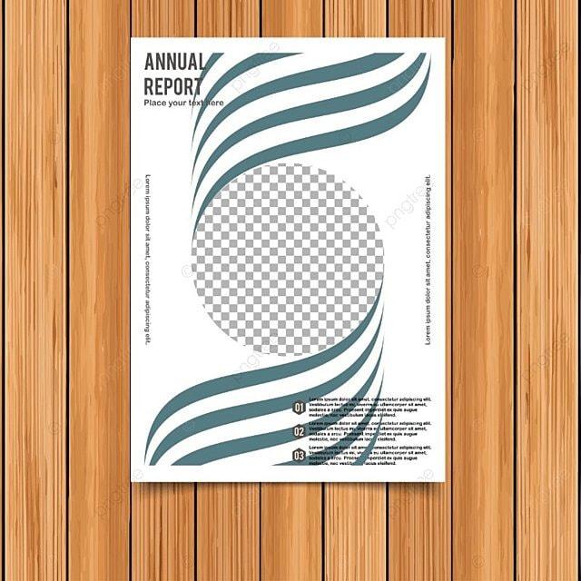 Informe anual tarjeta elegante diseño Descarga gratuita de plantilla ...