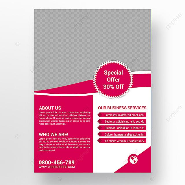 Empresa Flyer Descarga gratuita de plantilla en Pngtree