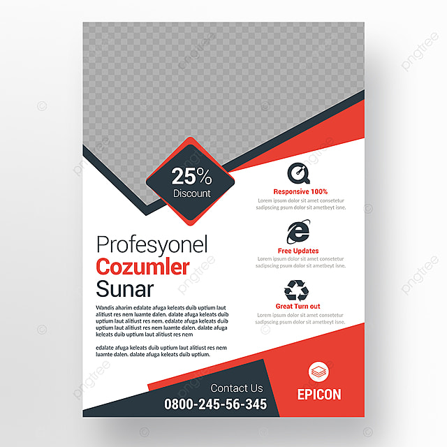 Corporate Business Flyer, Ad, Advert, Advertisement PNG and PSD File ...